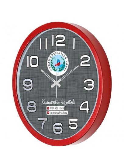 DVS-1534-KBMZ 35cm Plastik Duvar Saati