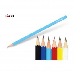 OZK-3450 Renkli Köşeli Kurşun Kalem
