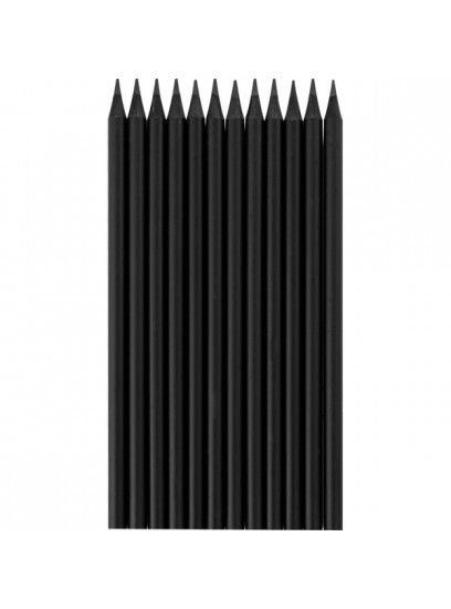 OZK-3490 Latalı Siyah Yuvarlak Kurşun Kalem