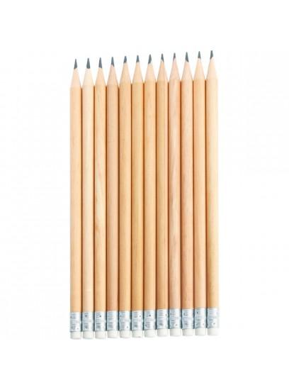OZK-3440 Yuvarlak Silgili Kurşun Kalem