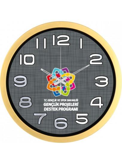 DVS-1534-ABMZ 35cm Plastik Duvar Saati